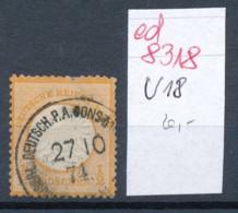 D.-Post Türkei Nr.  V18     ( Ed8318  ) Siehe Scan - Deutsche Post In Der Türkei