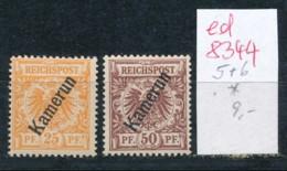 Kamerun  Nr.  5+6 *  ( Ed8344  ) Siehe Scan - Colonie: Cameroun