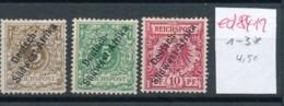 DSWA  Nr.  1-3 * ( Ed8411  ) Siehe Scan - Colony: German South West Africa