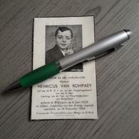 Van Rompaey, Van Rillaer,Wijnegem 1928-1944 Oorlogsslachtoffer.lid K.A.J. - Religion & Esotérisme