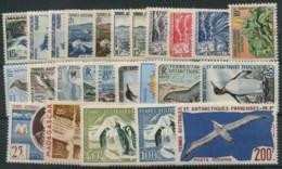 TAAF (1948 A 1959) N 1 A 18 Et PA 1 A 14 (Luxe) - Terres Australes Et Antarctiques Françaises (TAAF)