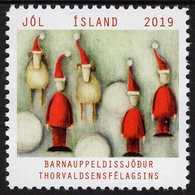 Iceland - 2019 - Christmas Seal - Mint Charity Stamp - 1944-... Republic