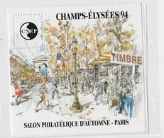 France Bloc CNEP 1994 N°19 Champs Elysées - CNEP