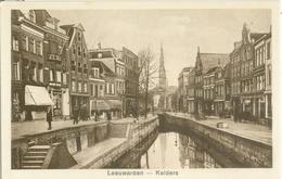 Leeuwarden; De Kelders (met Bierkade) - Niet Gelopen. (Uitgever?) - Leeuwarden