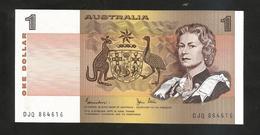 AUSTRALIA - Reserve Bank Of AUSTRALIA - ONE DOLLAR - Emissions Gouvernementales Décimales 1966-...