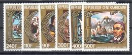 Central African Republic Mnh ** 1985 Columbus 18 Euros Complete Set - República Centroafricana