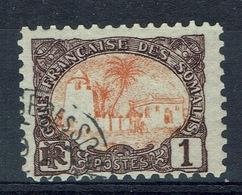 French Somali Coast, 1c., Tadjoura Mosque, 1902, VFU - Used Stamps
