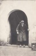 RP: Puerto Pollensa-Mallorca , Spain , 1933 ; Old Man In Doorway - Mallorca