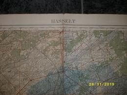 Topografische / Stafkaart Van Hasselt (Tessenderlo - Beringen - Helchteren - Houthalen - Zonhoven - Spalbeek - Schaffen) - Cartes Topographiques