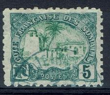 French Somali Coast, 5c., Tadjoura Mosque, 1902, VFU - Used Stamps