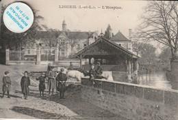 37 - Très Belle Carte Postale Ancienne De LIGUEIL  L'Hospice - Other Municipalities