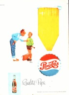 """PUB   """" PEPSI-COLA   """"  1963 ( 4 ) - Poster & Plakate"""