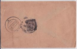 BRITISH INDIA RAJ BURMA COVER MAIL TO KYAIKLAT LETTRE BIRMANIE MYANMAR - India (...-1947)