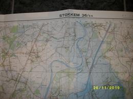 Topografische / Stafkaart Van Stokkem (Elen - Rotem - Susteren - Born - Obbicht - Dilsen - Meeswijk) - Cartes Topographiques