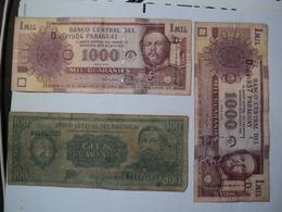 PARAGUAY. PAIRE DE BILLETS IDENTIQUES DE 1000 GUARANIES SERIE 2005 - Paraguay