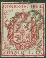 España Spain 33A 1854 Escudo De España - Espagne