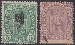 España Spain 154/55 1875 Escudo Usados - Espagne