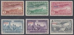 España Spain 630/35 630/5 1931 UPP MH - Espagne