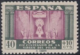 España Spain 998 1946 Virgen Del Pilar MNH - Spanje