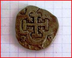 Jeton  Collection BP Espagne 8 Escudos 1650 Trésor Des Pirates N°6 Etat TB Pièce Monnaie Factice Publicité - Espagne