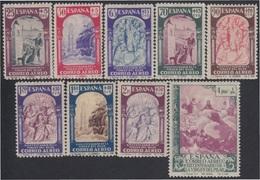 España Spain 904/12 1940 Virgen Pilar Zaragoza MH - Spanje