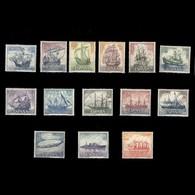 España Spain 1599/612 1964 Homenaje A La Marina Española LUJO MNH - Spagna