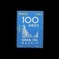 España Spain 4559 2010 Centenario De La Gran Via De Madrid, Lujo MHN - Non Classificati