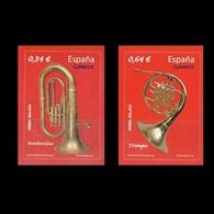 España Spain 4576/77 2010 Instrumentos Musicales, Lujo MNH - Non Classificati
