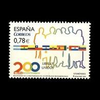 España Spain 4602 2010 Independencias Repúblicas Iberoamericanas Banderas, Luj - Non Classificati