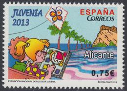 España Spain 4827 2013 Juvenia Mariposa Butterfly MNH - Spagna