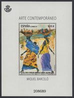 España Spain 4898 2014 Arte Contemporáneo Miquel Barceló MNH - Spagna