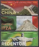 España Spain 4995/97 2015 Maravillas Del Mundo Moderno MNH - Spagna