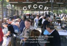 CPSM -  PARIS - PARC GEORGES BRASSENS - 2è JOURNEE DE LA CARTE POSTALE DE COLLECTION - Exposiciones