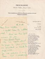 Astra Desmond Opera Contralto Edvard Grieg Ephemera Hand Signed Letter - Autógrafos