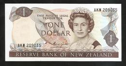 NEW ZEALAND - THE RESERVE BANK Of NEW ZEALAND - ONE DOLLAR / Queen Elizabeth II - Nuova Zelanda
