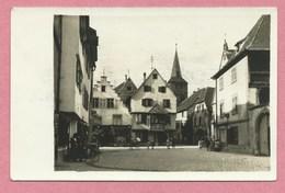 68 - TÜRKHEIM - TURCKHEIM - Carte Photo Allemande - Le Centre De La Ville - Guerre 14/18 - Turckheim