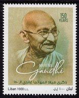 Lebanon - 2019 - 150th Birth Anniversary Of Mahatma Gandhi - Mint Stamp - Líbano
