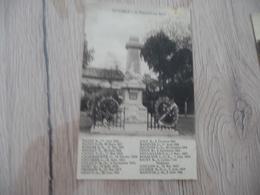CPA 71 Saône Et Loire Ratennelle Le Monument Aux Morts Au Verso PUB Combier Photo Macon Fabricant Cartes Potales - France