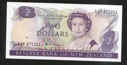 NEW ZEALAND - THE RESERVE BANK Of NEW ZEALAND - 2 DOLLARS / Queen Elizabeth II - Nuova Zelanda