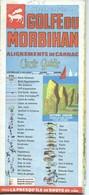 Carte CARION : Golfe Du MORBIHAN - Recto = 1/50 000ème + Verso = 1/25 000ème - Topographische Karten