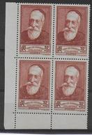 1938 - YVERT N° 380 ** MNH BLOC DE 4 - COTE = 14+ EUR. - ANATOLE FRANCE - Frankreich