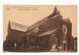2.DIEST  O.L.V. Kerk (13° Eeuw)  Eglise Notre-Dame (13° Siècle) FLION - Diest