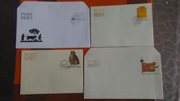 Lot De 46 Enveloppes 1er Jour + Documents Grands Formats De SUEDE + Entiers Postaux + Documents. A Saisir !!! - Timbres