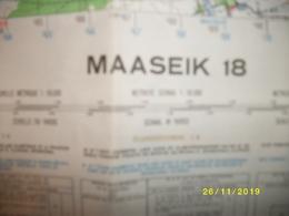 Topografische / Stafkaart Van Maaseik (Achel - Hamont - Weert - Thorn - Ophoven - Opitter - Bree - Meeuwen) - Cartes Topographiques