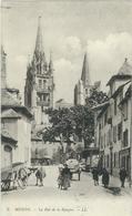 Lozere : Mende, Rue De La Banque... RARE - Mende