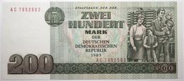 Allemagne De L'Est - 200 Mark - 1985 - PICK 32 - NEUF - 200 Mark