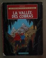 BD. 40. La Vallée Des Cobras, Jo Zette Et Jocko Hergé B38. - Jo, Zette & Jocko