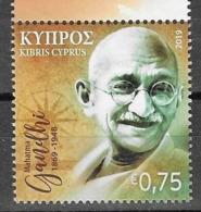 CYPRUS, 2019, MNH, GANDHI, 1v - Mahatma Gandhi
