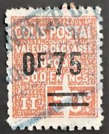 FRANCE - COLIS POSTAUX- N° 91 - Rare Variété Tâche Blanche Entre Le 5 Et Le 0 - Oblitéré (o) - Gebraucht