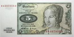 Allemagne De L'Ouest - 5 Deutsche Mark - 1960 - PICK 18a - NEUF - [ 7] 1949-… : RFA - Rep. Fed. De Alemania